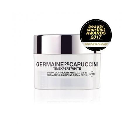 Timexpert White   Crema Clarificante Antiedad SPF 15 Germaine de Capuccini Lilolaugh